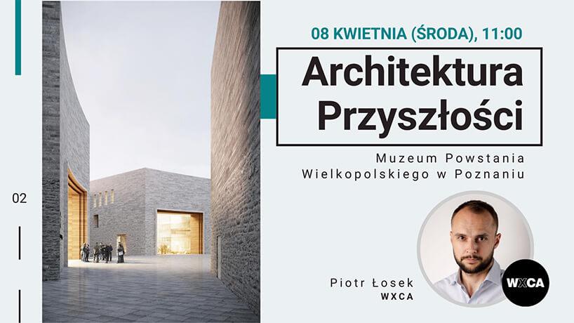 zaproszenie na webinarium Architektura Przyszłości od Virtus Studio