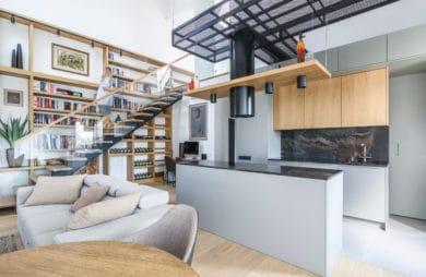 Spotkanie kultur Dwa piętra - jedno mieszkanie