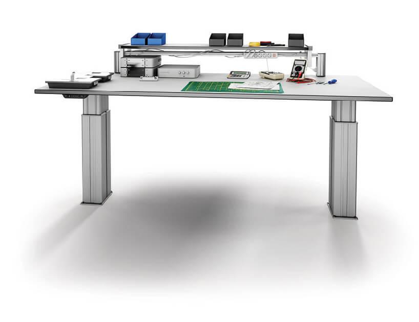 system pneumatyczny stołu