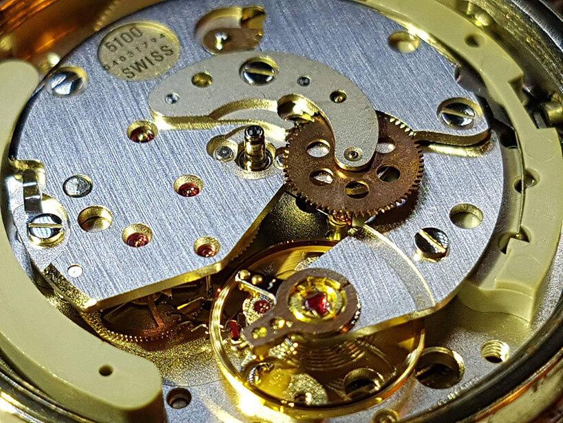 mechanizm zegarka na rękę