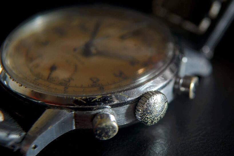 stary zegarek na rękę