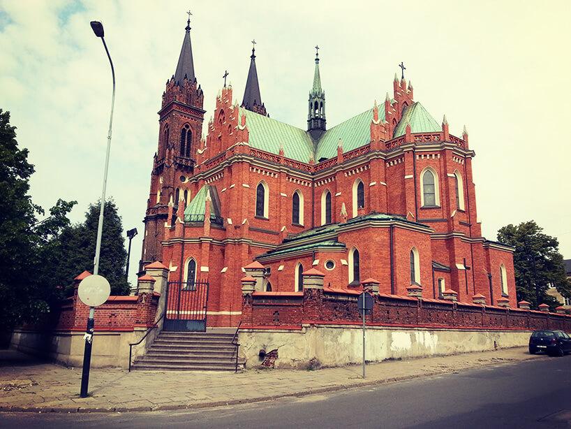 piękny stary kościół wŁodzi