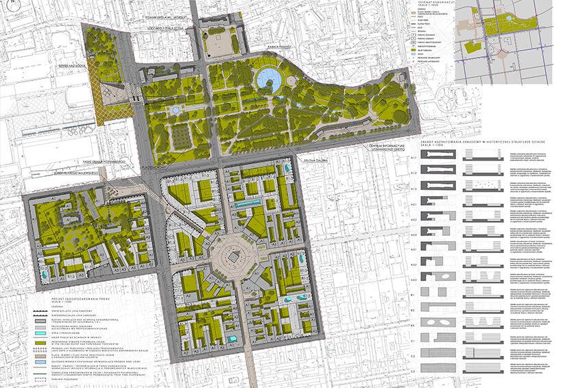 projekt zagospodarowania Starego Miasta wŁodzi