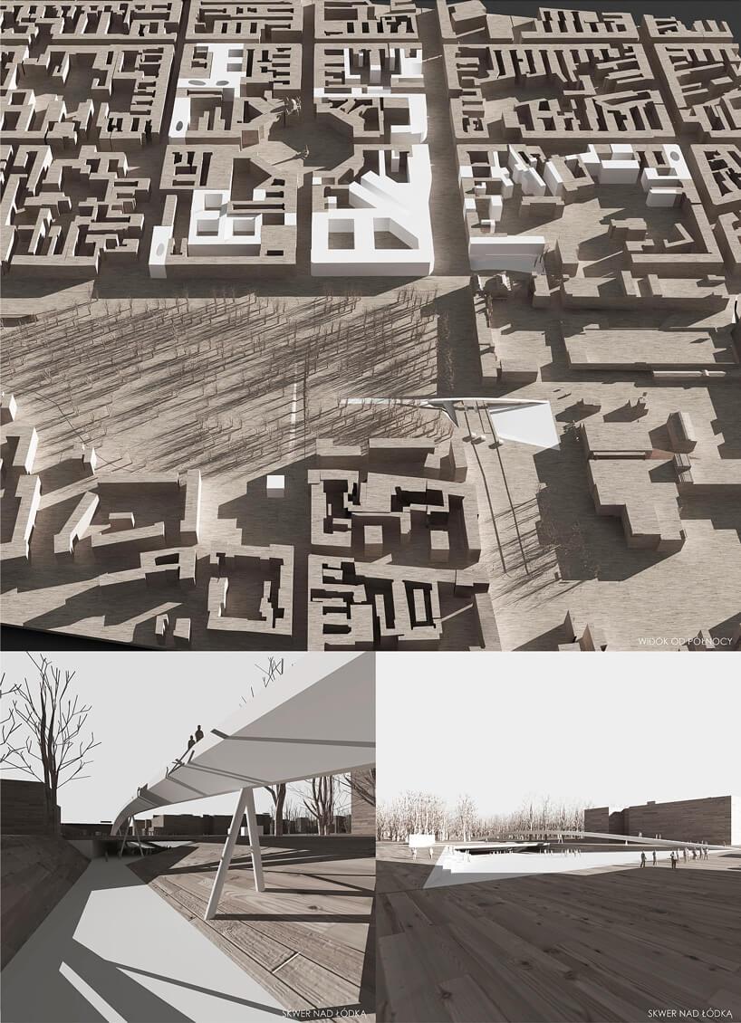 Wizualizacja przestrzenna Starego Miasta wŁodzi