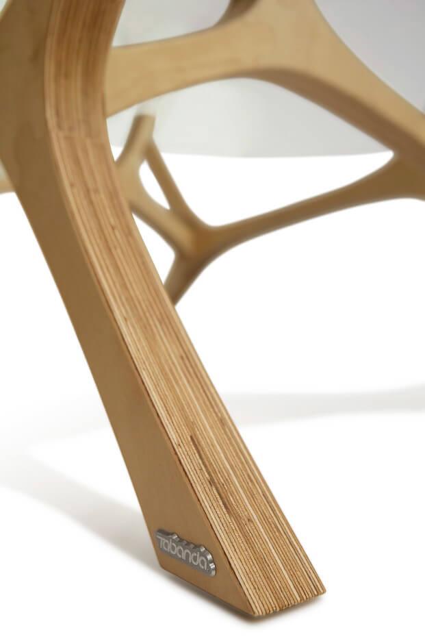 drewniana noga tabancia