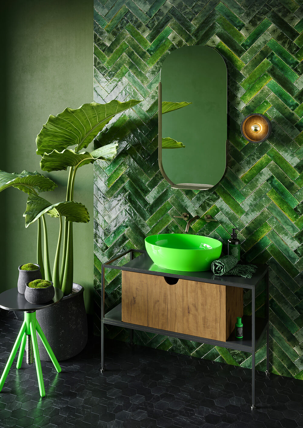 Stolarze czy surferzy? Mega-trendy wprojektowaniu łazienki.
