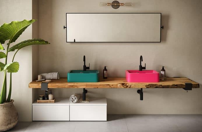 Stolarze czy surferzy? Mega-trendy w projektowaniu łazienki.