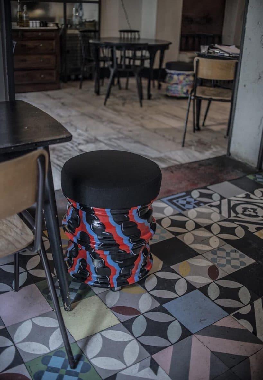 stolik barowy od milej zrobiony zfelg