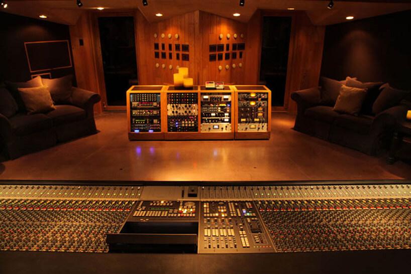 pokój profesjonalnych nagrań