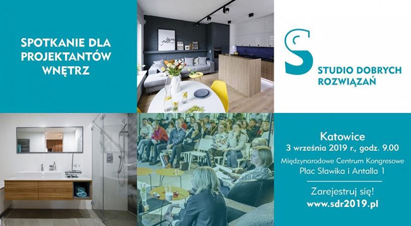 zaproszenie na Studio Dobrych Rozwiązań 2019 Katowice