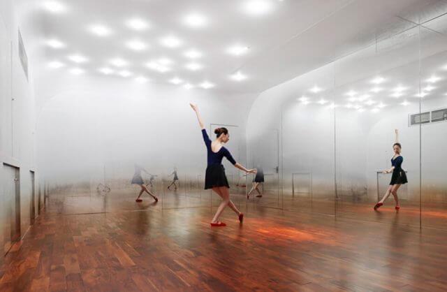 wnętrze studia tańca