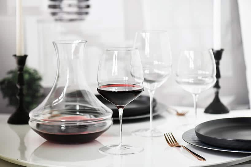 zastawa szklana do wina