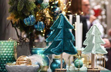 ozdoby świąteczne z nietypowych materiałów