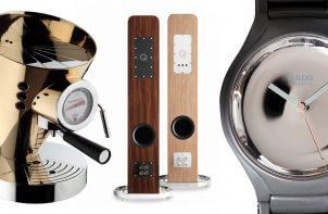 ekskluzywne głośniki, ekspres do kawy i zegarek
