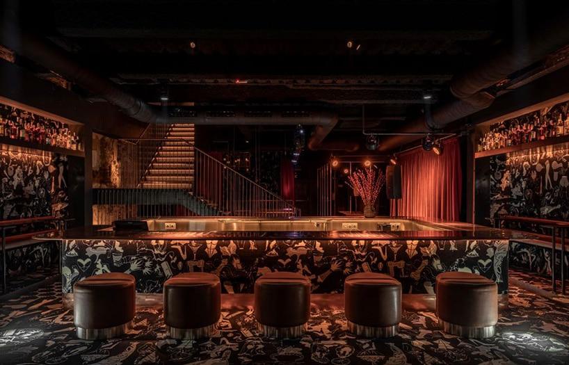 Sześć pięter, pięć barów, czyli wnętrza pełne doznań: MAD Bars House wKijowie