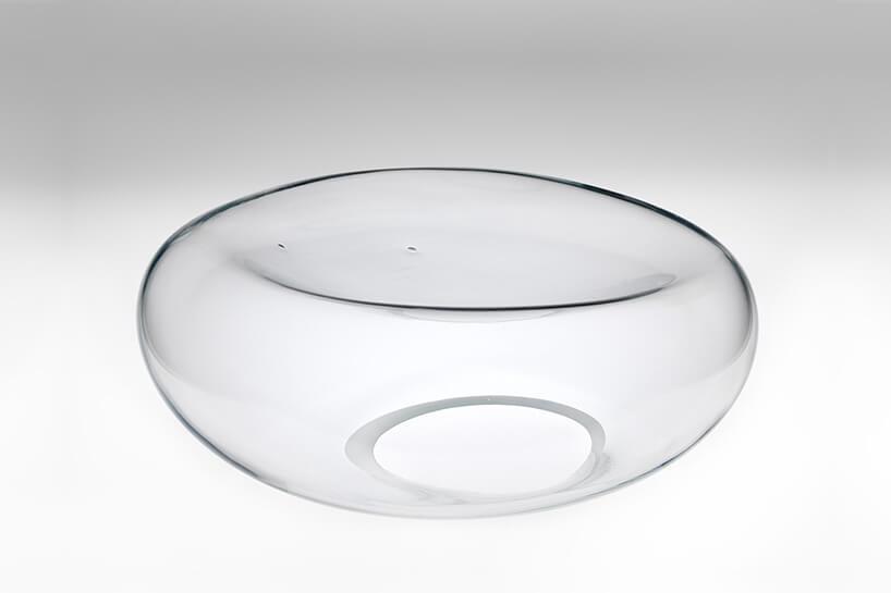 szklana misa zmożliwością dekoracyjnego wypełnienia