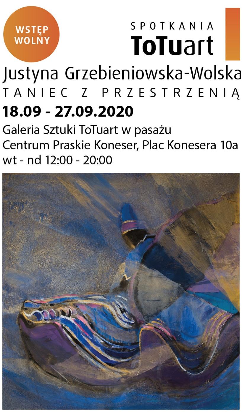 plakat wydarzeń zserii Spotkania ToTuart 2020
