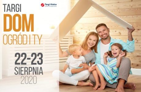 plakat targów Dom 2020 Targi Kielce