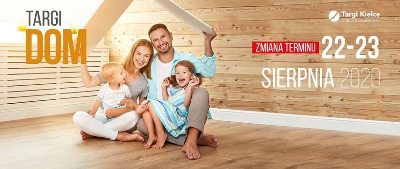 zaproszenie na targi Dom 2020 Targi Kielce