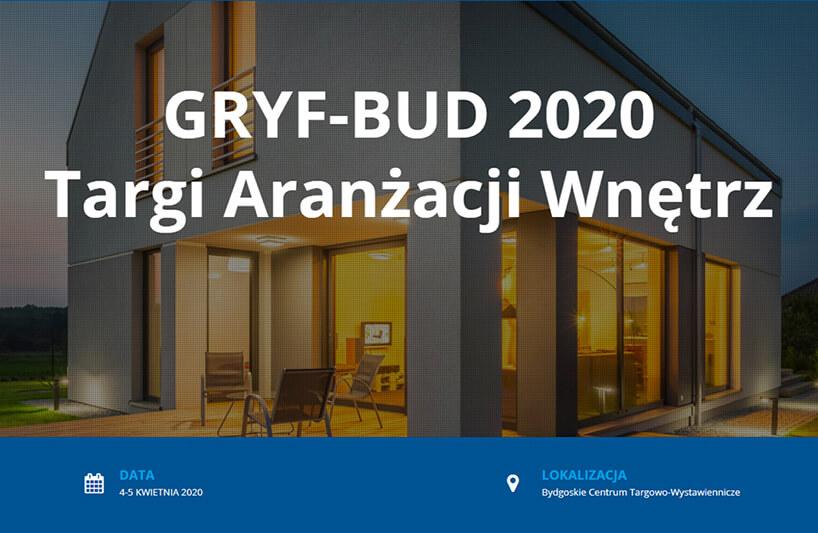 zaproszenie na Targi Aranżacji Wnętrz GRYF-BUD 2020