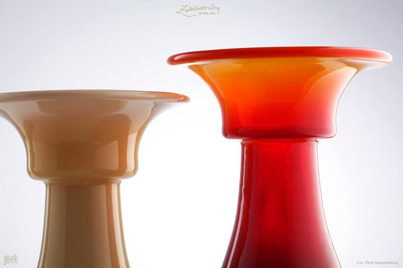 dwie szklane ozdoby Horbowy od Nowa Era