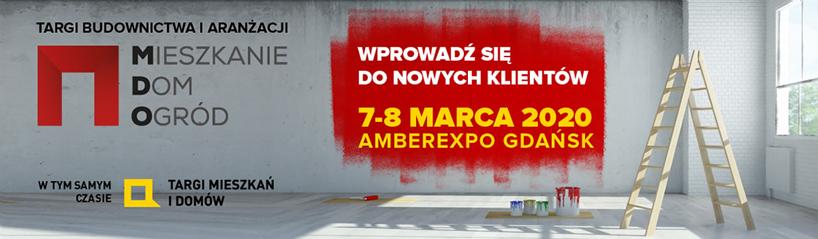 plakat targów budownictwa iaranżacji wnętrz MDO 2020