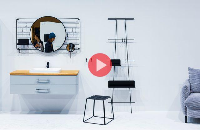 kadr z relacji video MAGAZIF z targów MEBLE POLSKA I HOME DECOR 2020