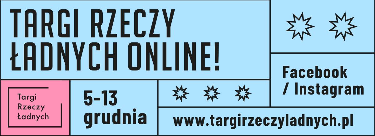 targi rzeczy ładnych grudzień 2020 online plakat