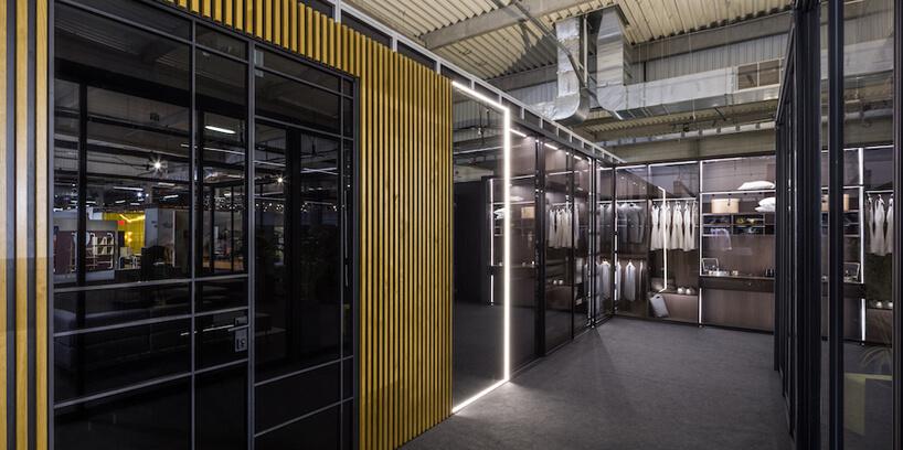 wyjątkowe szafy na stosiku Raumplus podczas Warsaw Home 2019