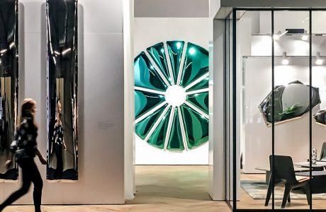wyjątkowe lustrzane projekty na stoisku Studio Zięta podczas Warsaw Home 2019