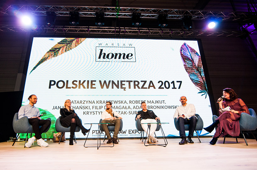mówcy podczas konferencji Polskie Wnętrza 2017 na Warsaw Home 2017