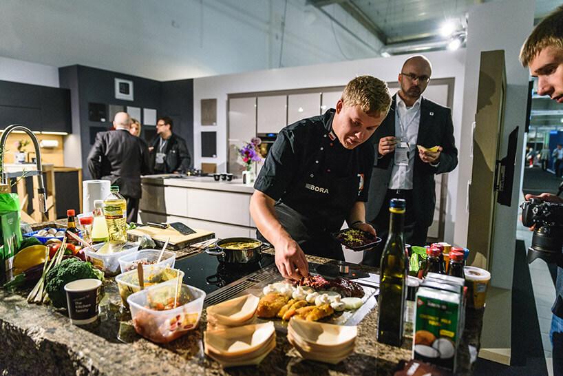 pokazy kulinarne na stoisko Bora na Warsaw Home 2017