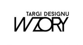 czarny logotyp Targi Designu WZORY 2020