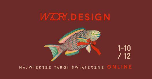 targi designu wzory plakat zima 2020