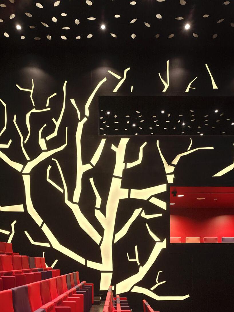 podświetlane drzewo
