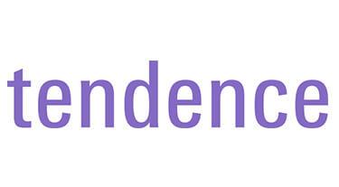 fioletowe logo tendence 2019