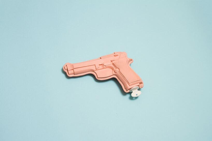 różowa broń