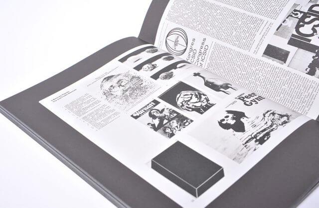 wnętrze książki PROJEKT: The Polish Journal of Visual Art and Design