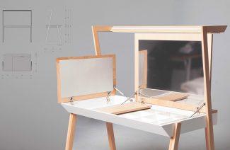 otwarta toaletka/biurko Desktop
