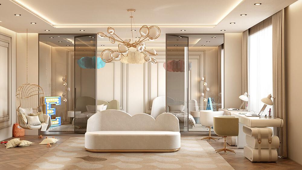 Ton wton: kremowy penthouse wMaroko