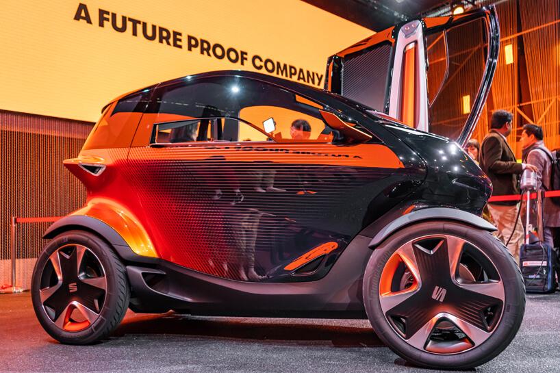 nowoczesny projekt małego samochodu od Seata