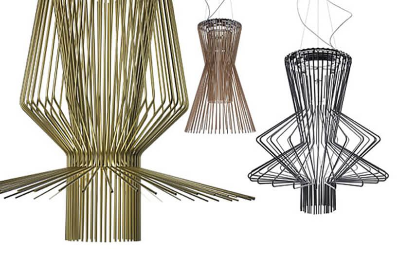 nowoczesne lampy wnietypowych kształtach