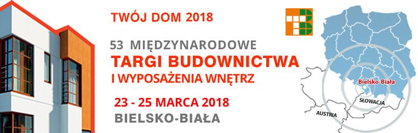 zaproszenie na targi Twój Dom 2018