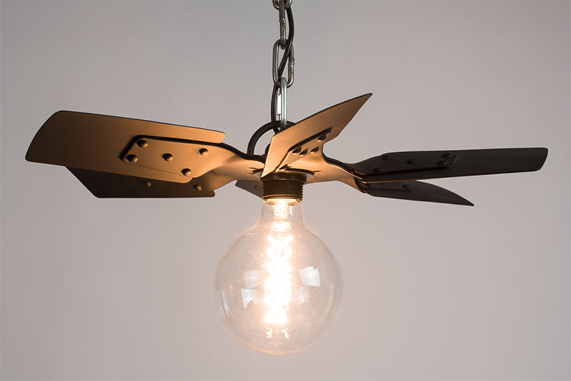 lampa zwirnika wentylatora