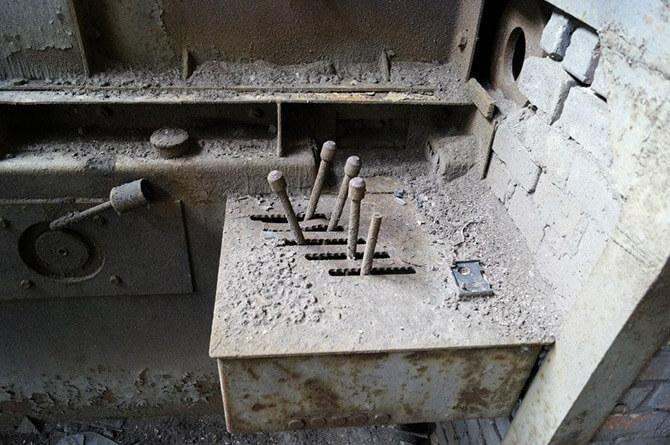 panel sterujący wstarej fabryce