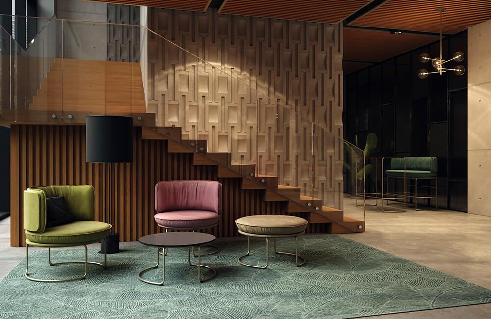 Urządzamy miejsca spotkań wnowych biurach: wygodne meble biurowe