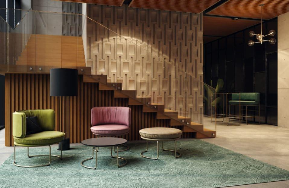 Urządzamy miejsca spotkań w nowych biurach: wygodne meble biurowe