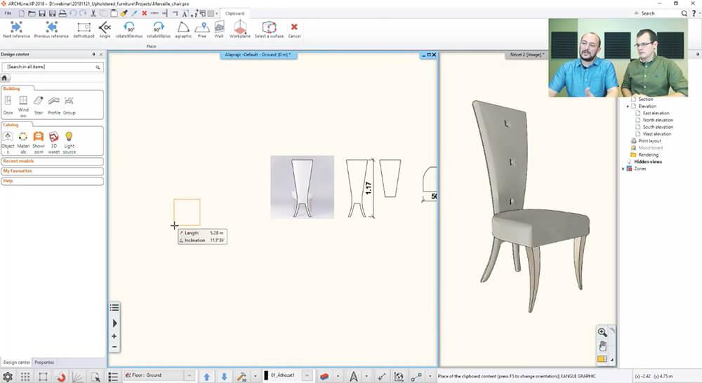 Projektowanie mebli 3D zpomocą programu ARCHLine.XP