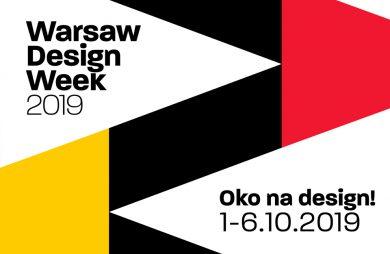 plakat Warsaw Design Week 2019