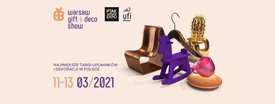 plakat warsaw gift deco show 2021